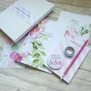 Maid Of Honour Wedding Planning Stationery Gift Set