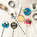 Scary Monster Biscuit Pop Baking Kit