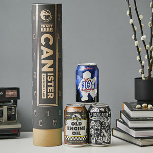 Porter And Stout Beer Canister Gift Idea