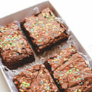 Birthday Sprinkle Brownies