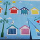 Beachhut Wrapping Paper, Summer Gift Wrap