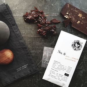 Organic Orange Chocolate - luxury chocolates