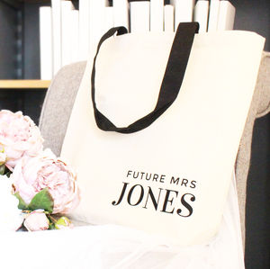'Future Mrs …' Wedding Tote Bag - wedding fashion