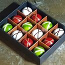 12 Luxury Handmade Ganache Chocolates