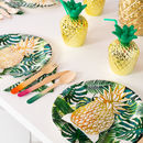 Tropical Fiesta Palm Party Table Cover