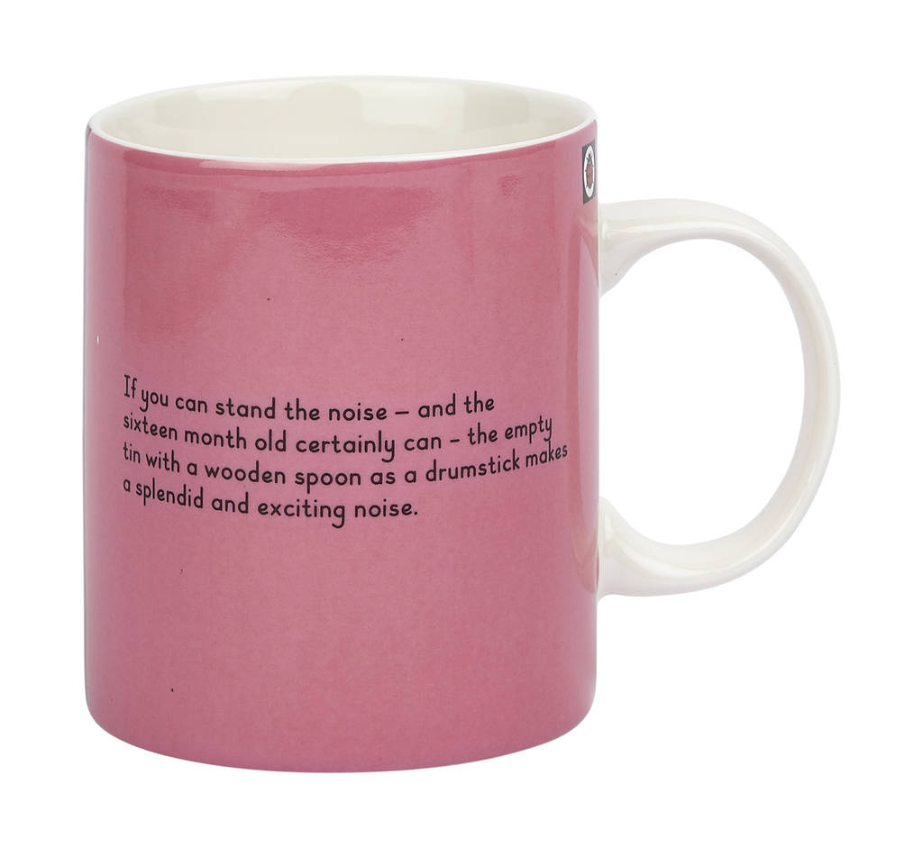 Amazing Ladybird Cover Story Fine China Gift Boxed Mug   Learning With Mother By  Designed In Colour