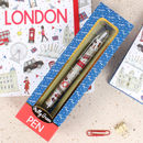 London Icons Pen In A Box
