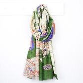 New York City Subway Map Scarf - summer shop