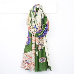 New York City Subway Map Scarf - winter sale