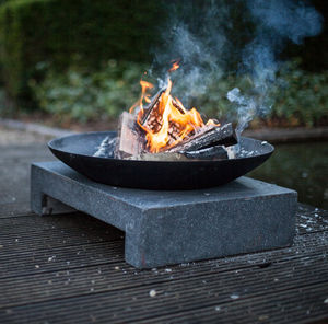 Fire Pit On Granite Base