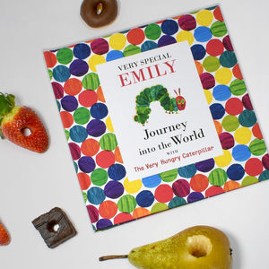Personalised The Hungry Caterpillar Christening Book - personalised