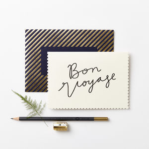 Deco Bon Voyage - leaving cards