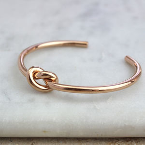 Infinity Knot Cuff - what's new