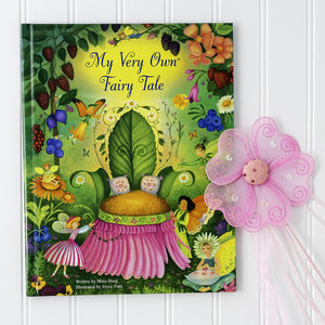 Personalised 'My Very Own Fairy Tale' Story Book - personalised