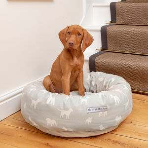 Dog Print Donut And Pillow Dog Beds