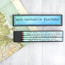 Irish Sayings: Best Friend Gift Pencils