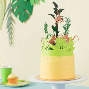 Jungle Cake Topper