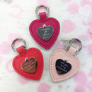 Will You Be My Bridesmaid? Personalised Heart Keyring