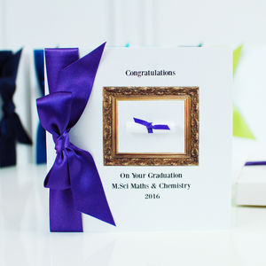 Personalised Graduation Card Exams Congratulations - graduation cards