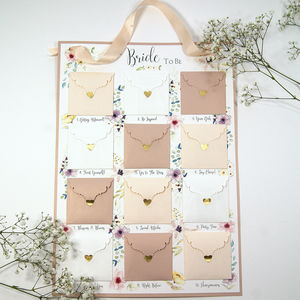 The Bride To Be Advent Planning Calendar - what's new