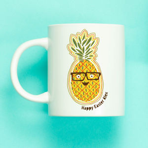 Personalised Funny Pineapple Mug - new in home