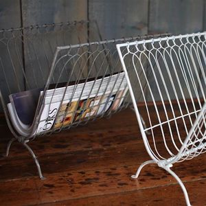 Wire Magazine Rack - magazine racks