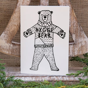 Hygge Bear Christmas Card / Pack - cards