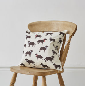 Labrador Cushion - winter sale
