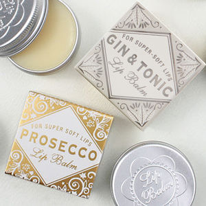 Prosecco And Gin And Tonic Lip Balm Duo - lip care