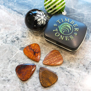 Timber Tones Guitar Picks For Acoustic Guitar - men's accessories