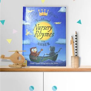 Personalised Book Of Traditional Nursery Rhymes - books