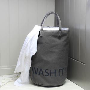 Wash It Laundry Bag - laundry bags & baskets