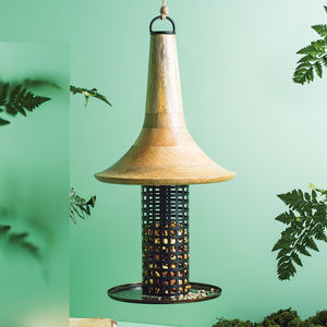 Barford Copper Bird Feeder - 60th birthday gifts