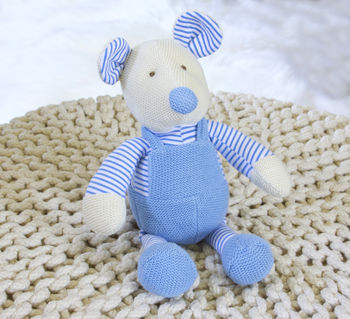Hand Knitted Mouse Toy