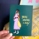 'You're Having A Baby' Greetings Card