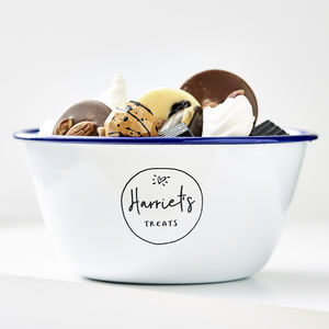 Personalised Enamel Sweet Treat Bowl - tableware