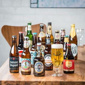 14 Award Winning Beers Of The World And Tasting Glass - gifts for him