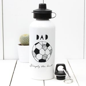 Personalised 'Hand Drawn Hobby' Water Bottle