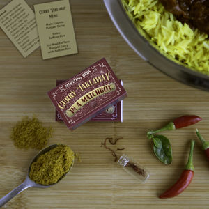Curry Takeaway In A Matchbox