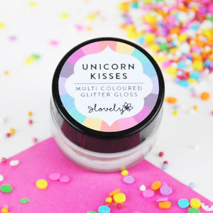 'Unicorn Kisses' Glitter Lip Gloss - love tokens