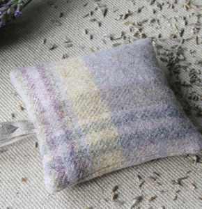 Abraham Moon Wool Lavender Bag - bedroom