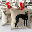 Whippet Or Greyhound Lavender Bags