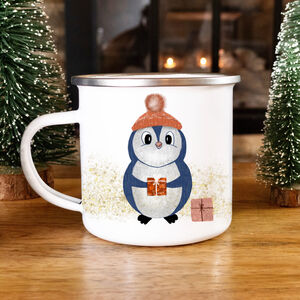 Penguin Christmas Mug