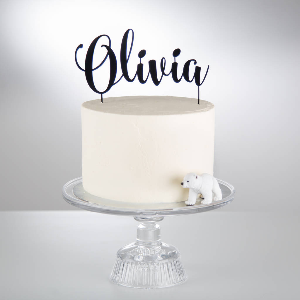 9f9e38530388 personalised acrylic cake topper by twenty-seven ...