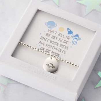 Personalised Sky Is The Limit Beaded Bracelet