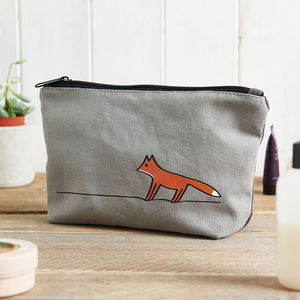 Fox Zip Bag