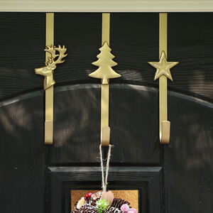 Luxury Gold Over Door Wreath Hanger Collection