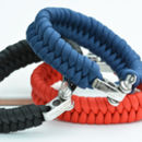 Shackle Woven Men's Bracelet