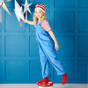 Christmas Elf Dungaree Set - gifts for children