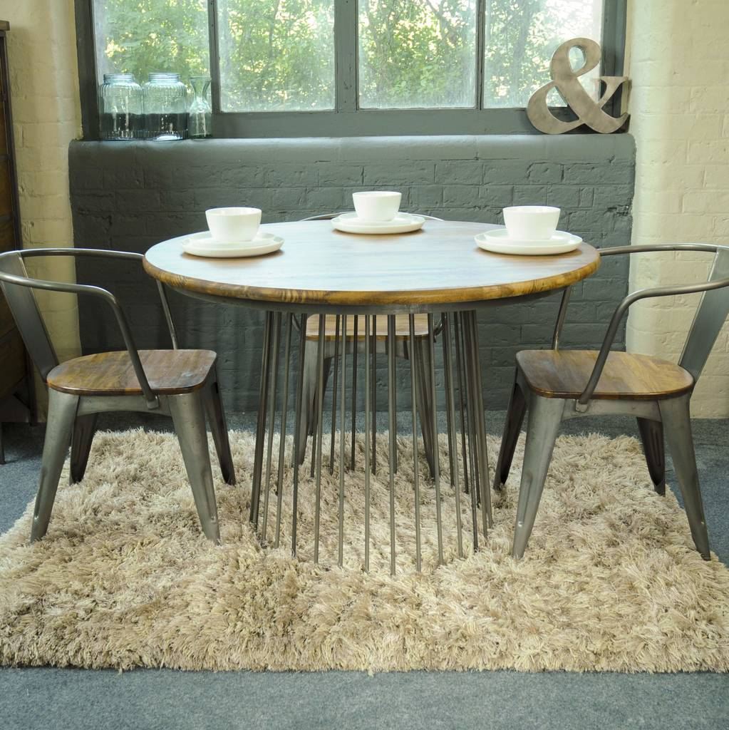 Birdcage Round Dining Table By The Orchard Furniture